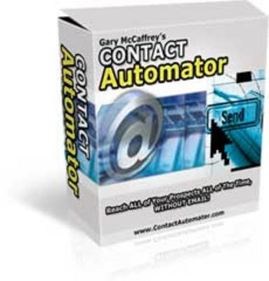 Product picture Contact Automator Software + Resale Rights
