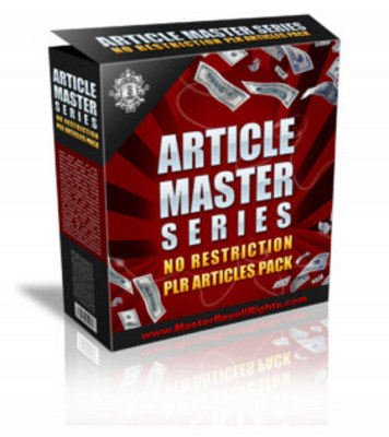 Product picture Article Master Vol.11 + Private Label Rights